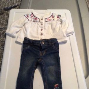 3 month jeans outfit